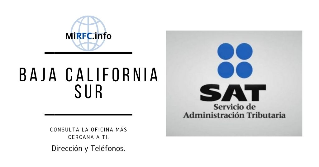 oficinas el sat baja california sur
