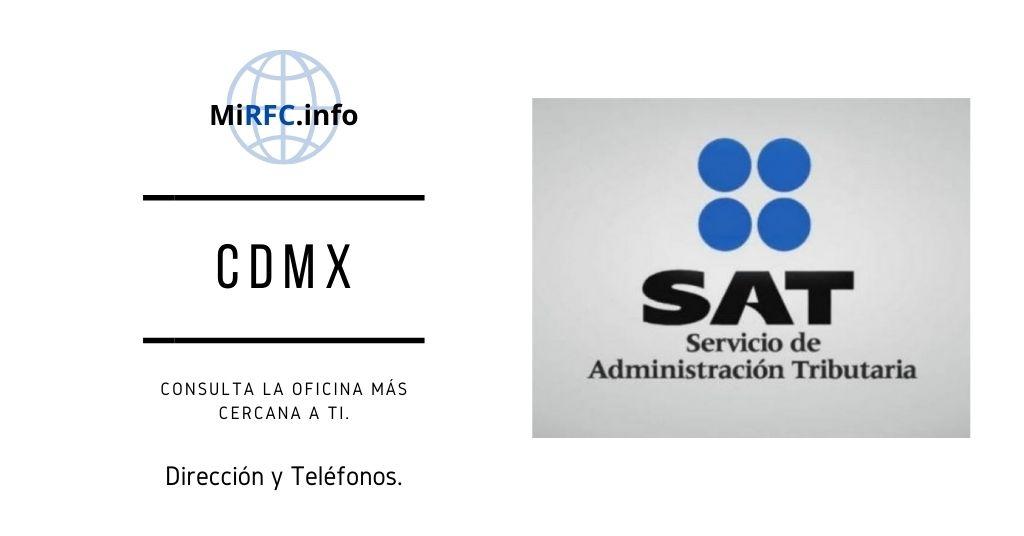 oficinas del sat cdmx