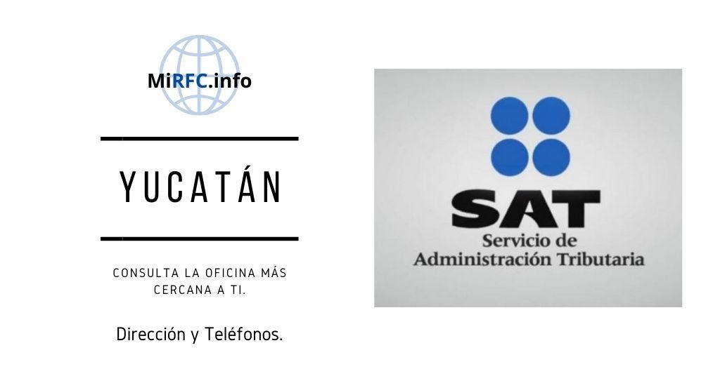 oficinas del sat yucatan